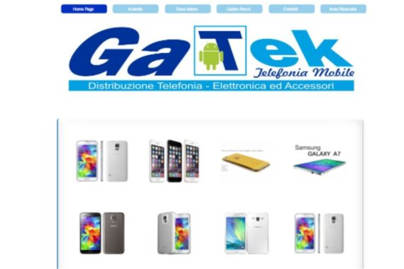 tanti telefonini dal sito web gatek.it